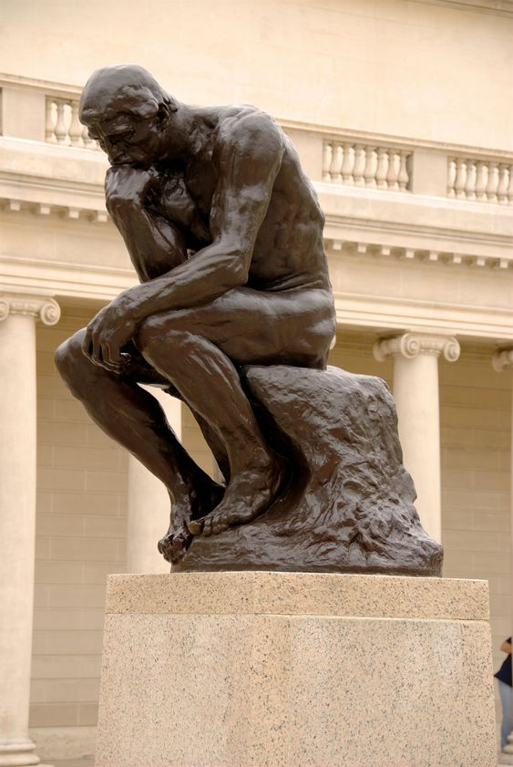 """Auguste Rodin - """"The Thinker."""":"""