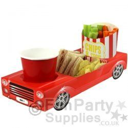 Car food tray. Could cook chips and fish fingers/chicken nuggets easily.