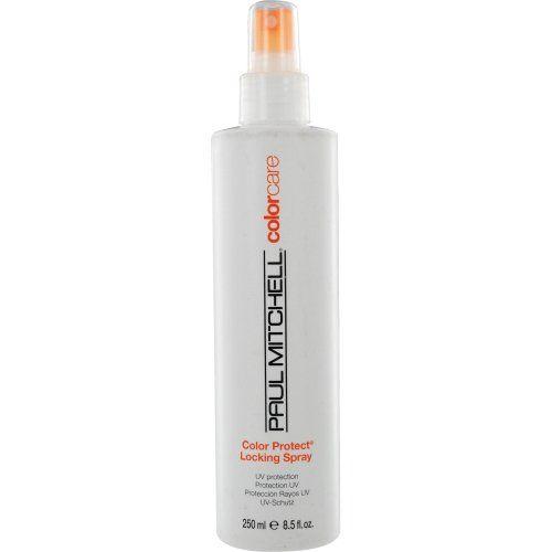 Paul Mitchell Color Protect Locking Spray, UV Protection, 8.5-ounce Paul Mitchell http://www.amazon.com/dp/B0009OMNVQ/ref=cm_sw_r_pi_dp_BOcbvb0RAR9JB