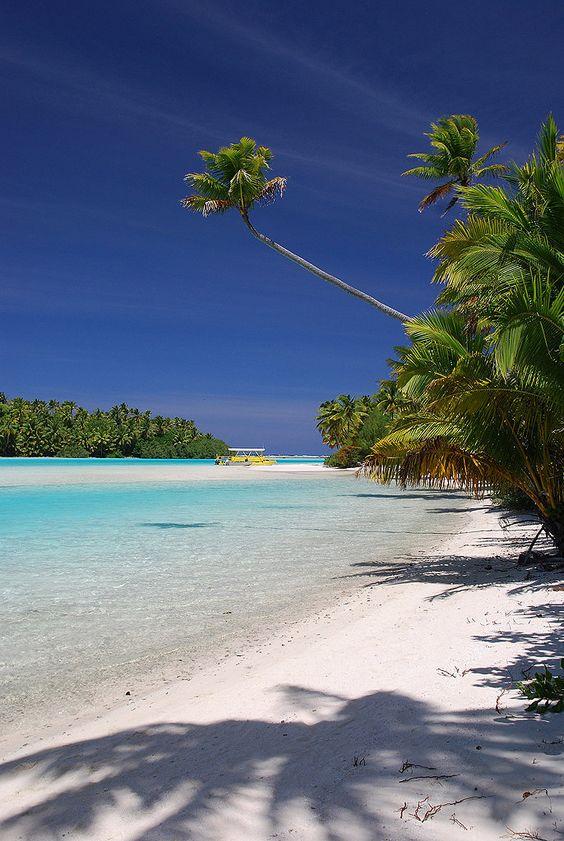 One Foot Island - Aitutaki Lagoon, Cook Islands