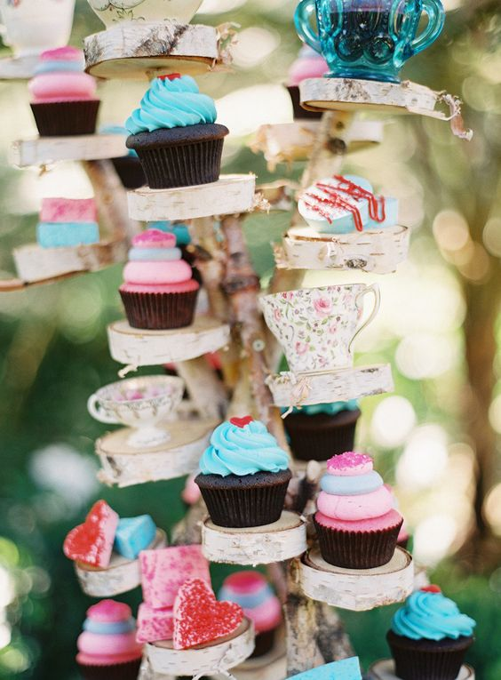 #cupcakes Photography by kurtboomerphoto.com Floral Design + Styling by nicosb.com  Read more - http://www.stylemepretty.com/2013/01/29/montecito-storybook-photo-shoot-from-nlc-productions-kurt-boomer/