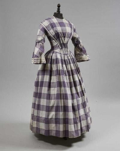 Dress ca. 1845 From Daguerre Auctions Fripperies and Fobs