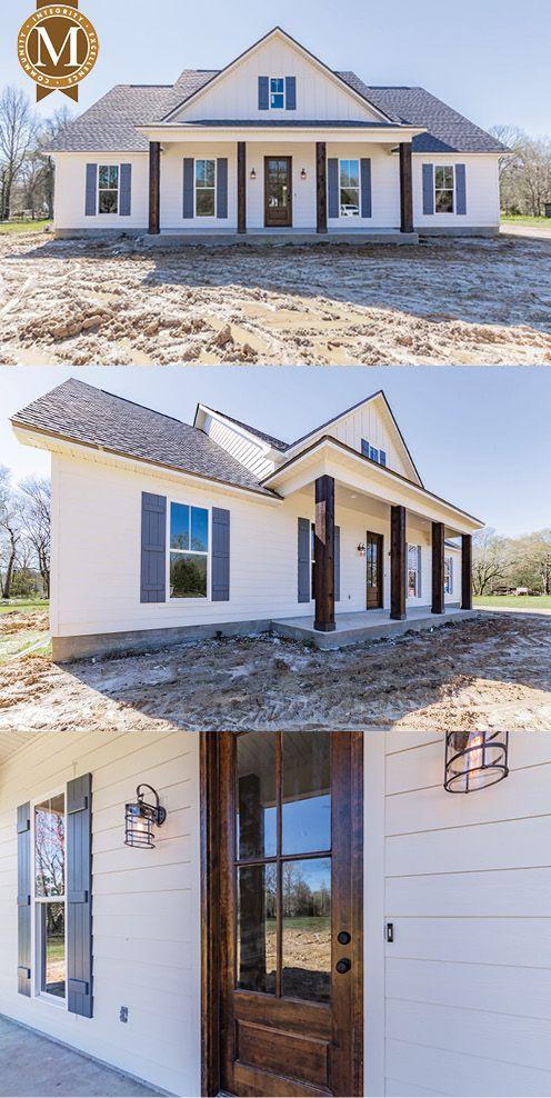 David Farmhouse Floor Plan South Louisiana New Homes Barn House Plans Buy My House House Exterior