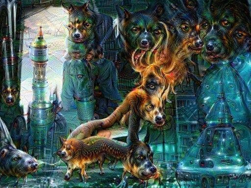 Deep Dream Filter digital fantasy art