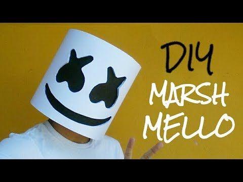 Como Hacer Una Mascara Casco De Marshmello Con Papel Opalina Momuscraft Youtube Como Hacer Como Hacer Disfraces Manualidades Creativas