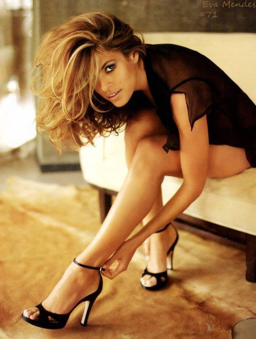 Eva Mendes. Bitch is dating my boyfriend but shes hot