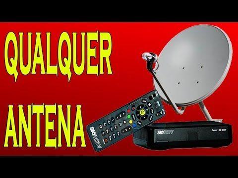 PASSO A PASSO DE COMO SINTONIZAR E HABILITAR o SKY Pré Pago HD usando  qualquer antena- Apontamento - YouTube   Dicas de computador, Antenas,  Contra piso