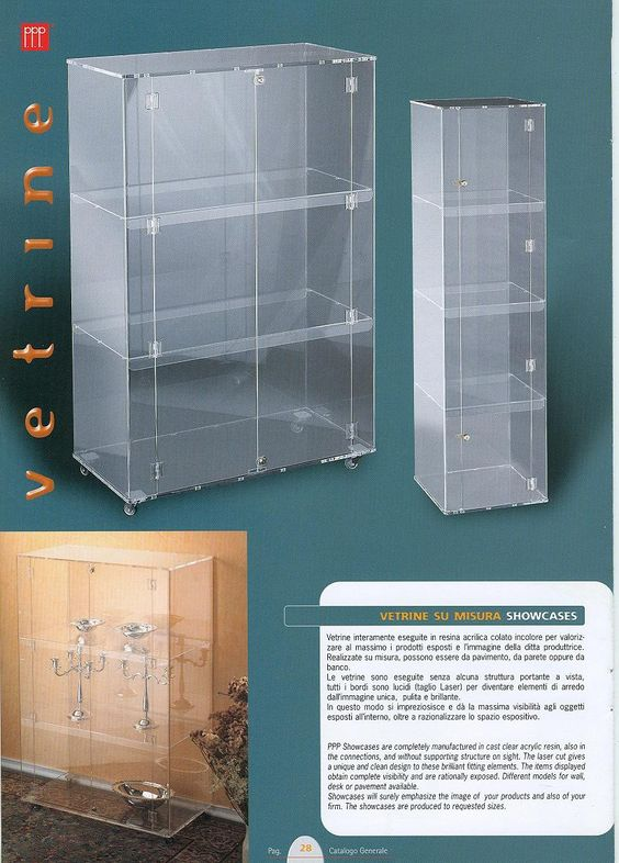 Showcase, PPP design&manufacturing www.ppp.it