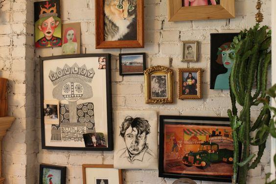 Freunde von Freunden — Aviva Rowley — Artists & Florist, Apartment, West Village, Manhattan, New York — http://www.freundevonfreunden.com/interviews/aviva-rowley/