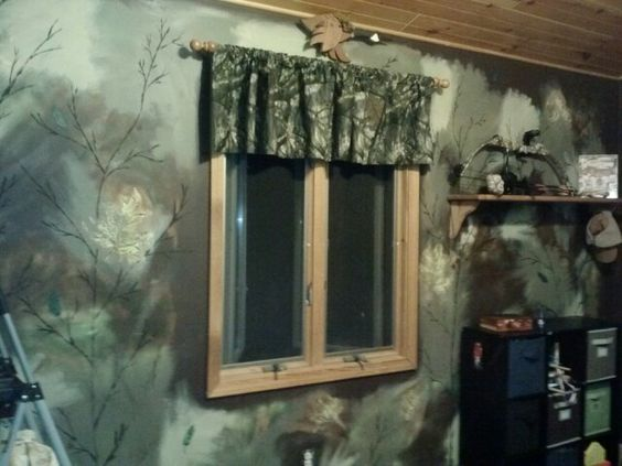 Camo painted wall rustic pinterest painted walls for Camo mural wall