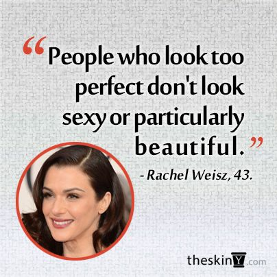 Don't strive for perfection. It's impossible and not particularly beautiful...