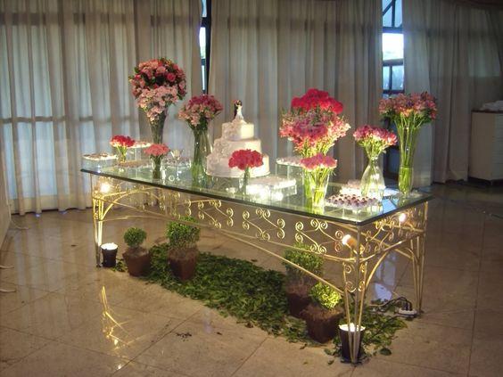mesas de bolo iluminação - Pesquisa Google