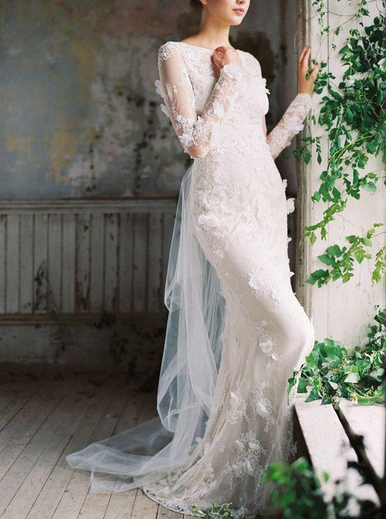 Claire Pettibone wedding dress | Wedding & Party Ideas | 100 Layer Cake