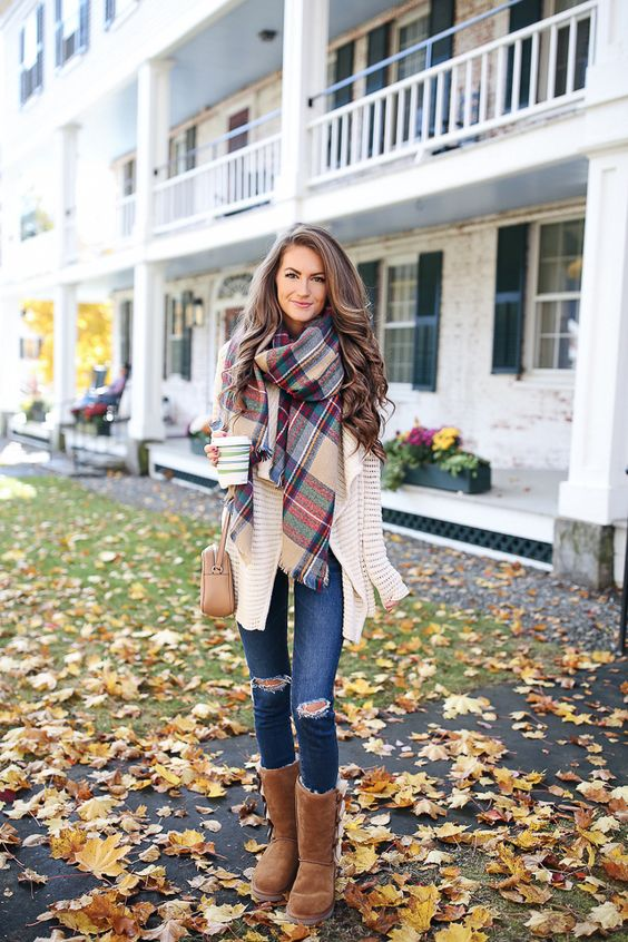 really cute fall outfit: