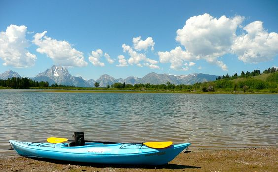 Wyoming's Snake River w/ Teton's in the background. Submitted by ACK customer Chaz H.