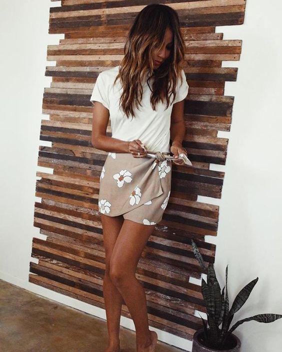 La falda pareo