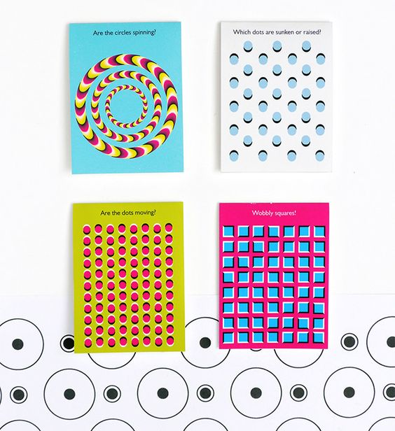 Free printable optical illusion lunchbox notes to sneak science in with their sandwiches