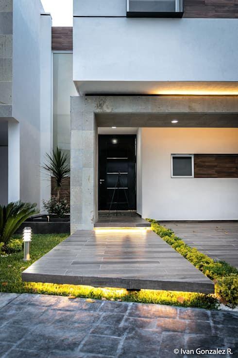 Arquitectura Moderna Mexicana Origen Caracteristicas Y Exponentes Homify Homify Fachadas Casas Minimalistas Entradas De Casas Pequenas Entrada De Casas Modernas
