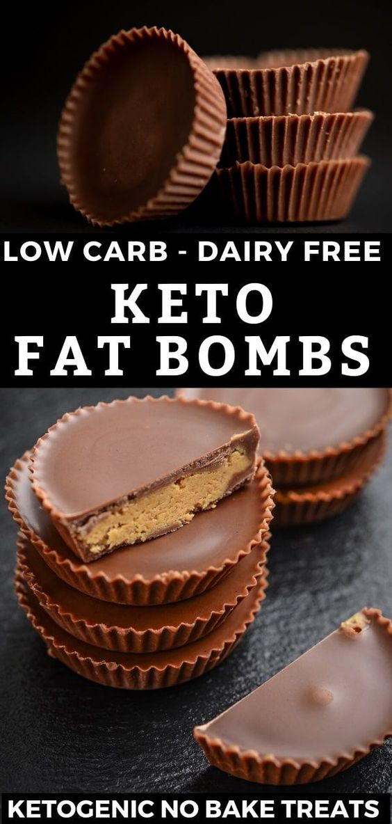 Keto Chocolate Peanut Butter Fat Bombs Dairy Free Low Carb No Bake