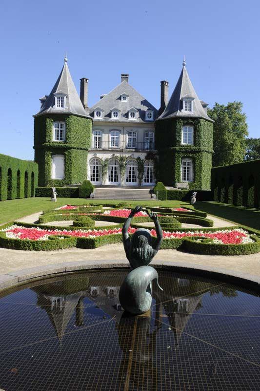 Les Parcs et Jardins Exceptionnels de Wallonie : des lieux à découvrir - Domaine régional Solvay - Château de La Hulpe