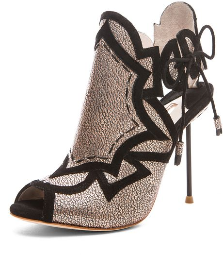 Sophia Webster  Yasmin Geometric Heel