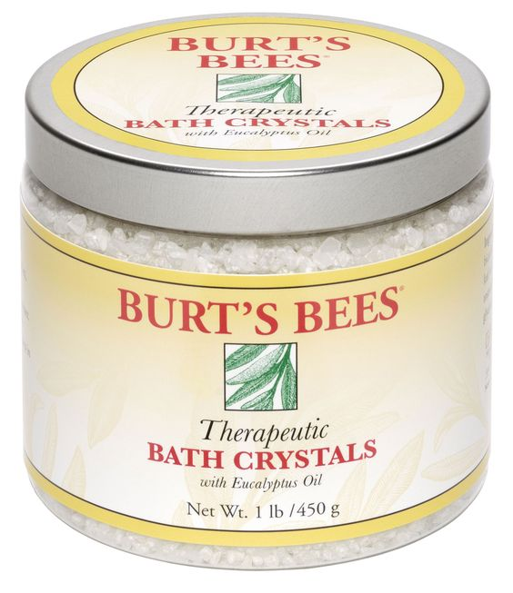 Therapeutic Bath Crystals - Burt's Bees These salts are seriously the best!!
