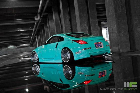 tiffany blueishh 350z if only dad would let me do this to mine without the deep dish wheels. Black Bedroom Furniture Sets. Home Design Ideas