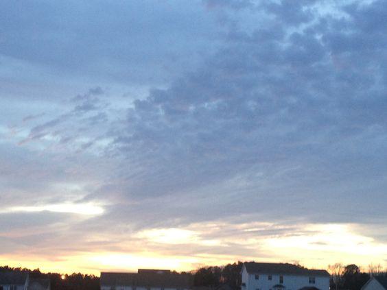 sunset is beautiful
