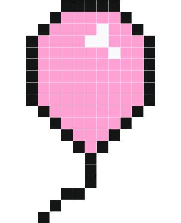 Stickaz - Ballon rose