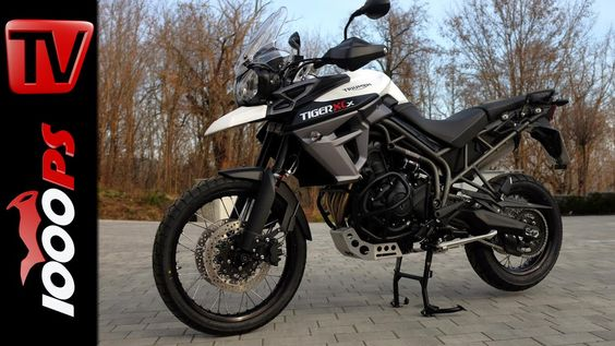 Triumph Tiger 800 XCx Onboard - YouTube