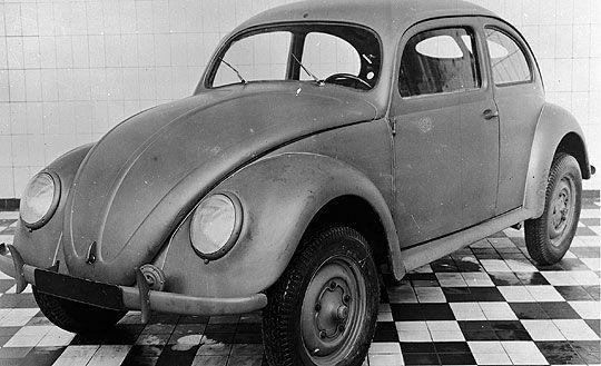 Success story de la Coccinelle de Volkswagen