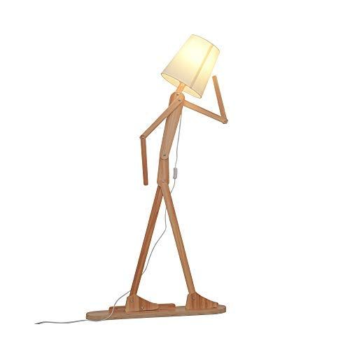 Wooden Floor Lamps Shining Natural Feeling With Images