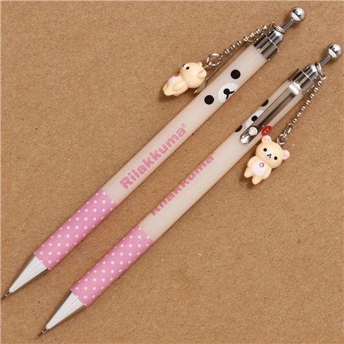 Portemine Rilakkuma avec l'ours blanc, par San-X - Stylos - Crayons à papier - Papeterie - boutique kawaii modeS4u