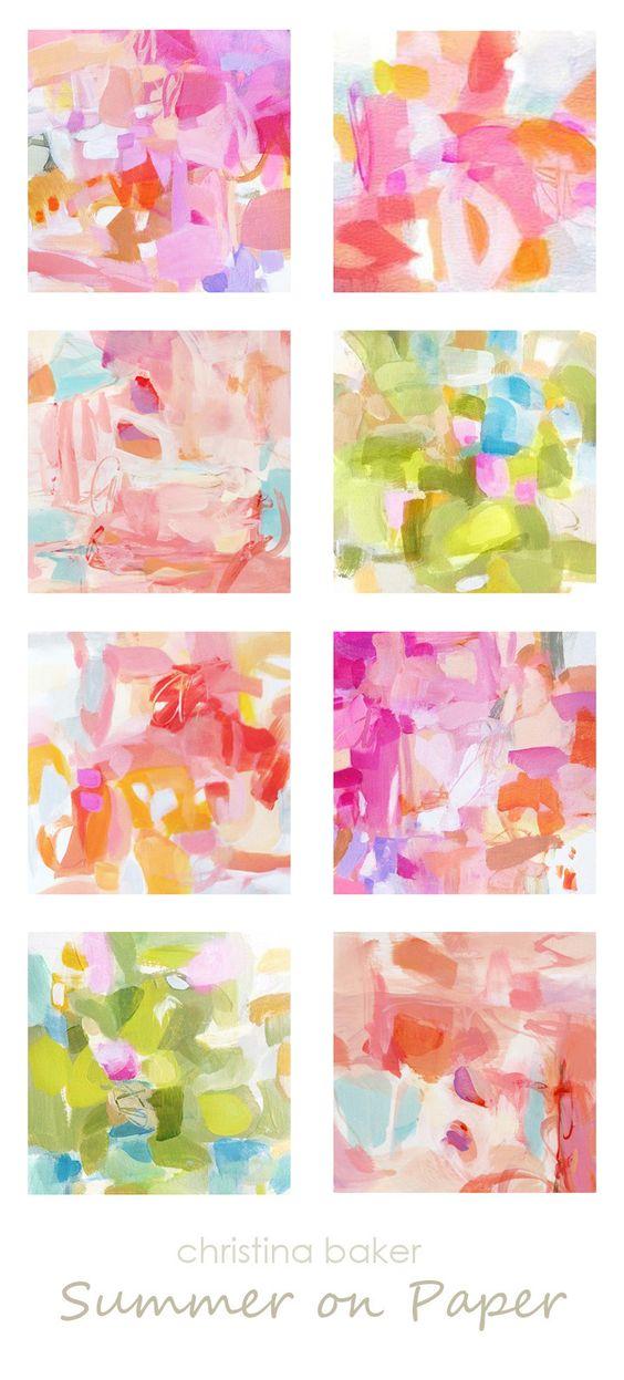 Christina Baker Artist Blog: Summer on Paper .
