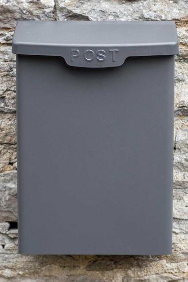 Buy Shipton Post Box Charcoal The Worm That Turned Revitalising Your Outdoor Space Post Box Entrance Gates Design House Front Porch