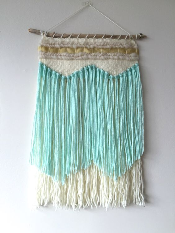 Wall Hangings Etsy weaving / woven wall hanging / weaving wall hanging / fiber art