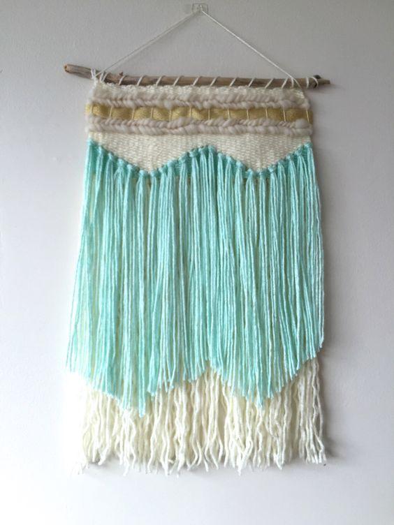 Wall Hangings Etsy weaving / woven wall hanging / weaving wall hanging / fiber art