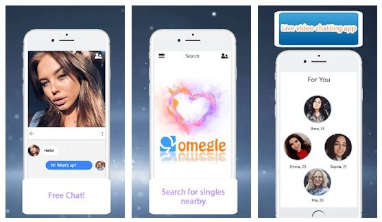 Video chat app iphone omegle Omegle Alternative