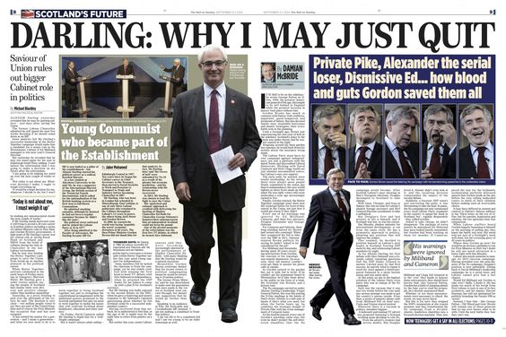 Scottish Mail on Sunday Pg9  Six Gordon Brown Pix  Katielee Arrowsmith