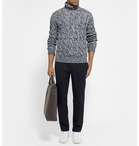 TomorrowlandDrawstring-Waist Wool and Cashmere-Blend Trousers