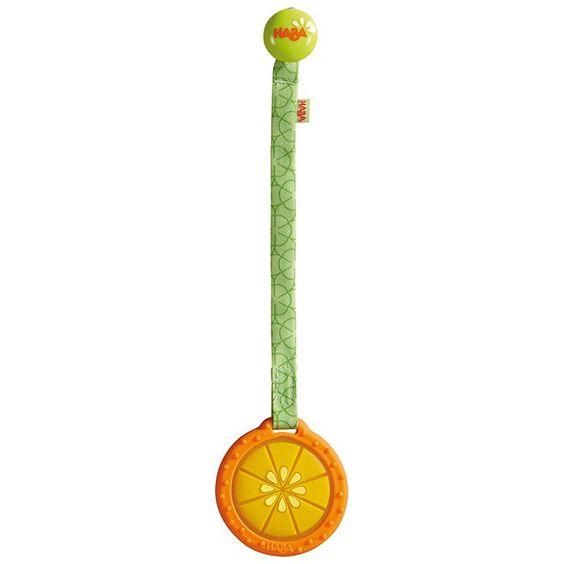 Mordedor Naranja con cinta - HABA
