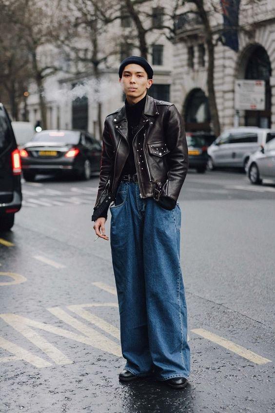 Fashionable Wide Leg Pants