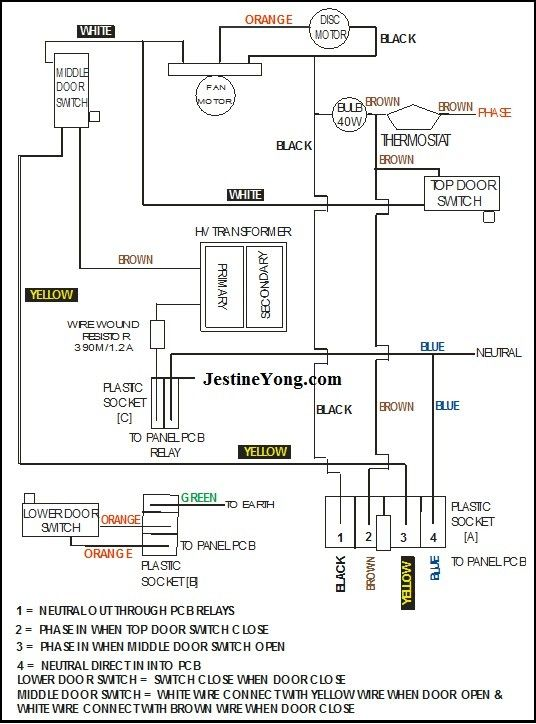 Wiring Diagram Of Samsung Microwave Oven | Electronics Repair And  Technology News in 2020 | Microwave oven, Samsung microwave, Microwave oven  repairPinterest
