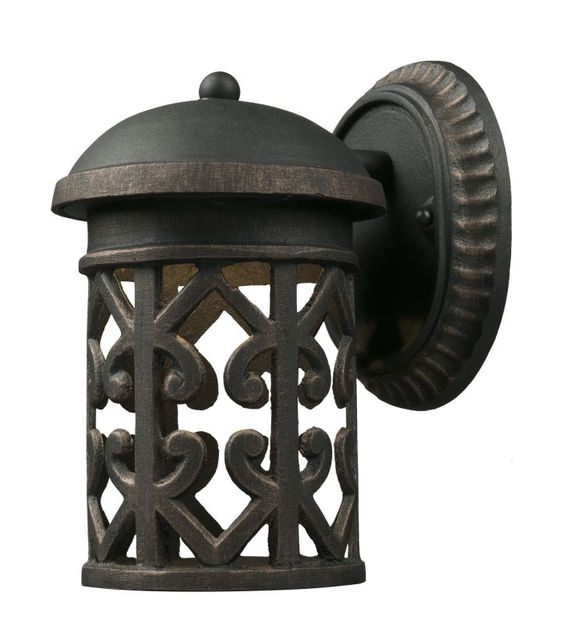 Elk Lighting 423651 1 Light Outdoor Sconce from the Tuscany Coast