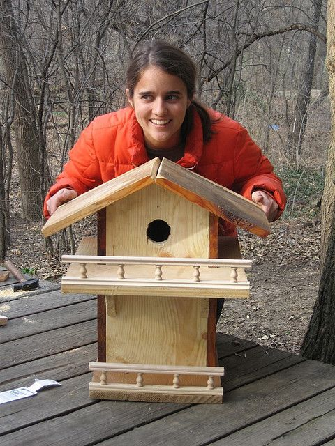 Diy Squirrel House Homemade Squirrel House Flickr