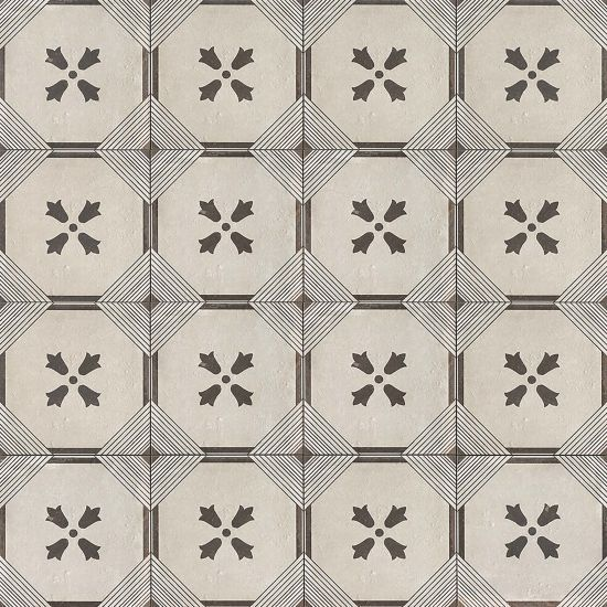 Palazzo 12 X 12 Decorative Tile In Vintage Grey Florentina Bedrosians Tile Stone Decorative Tile Decorative Wall Tiles Shower Floor Tile