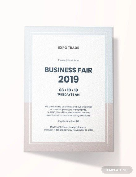 Corporate Event Invitation Template 23 Business Invitation Card Designs And Examples Psd Ai In 2020 Business Invitation Invitation Cards Invitation Card Design
