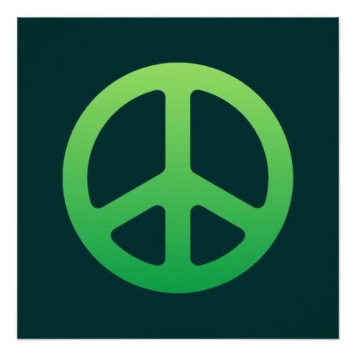 Green Peace Sign http://www.zazzle.com