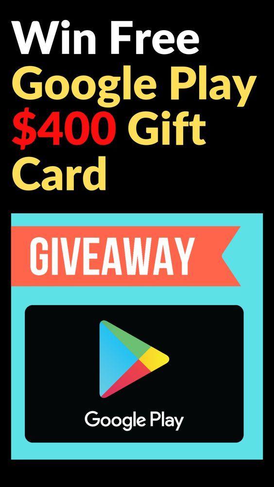 Win Free Google Play 400 Gift Card Google Play Gift Card Amazon Gift Card Free Google Play Codes