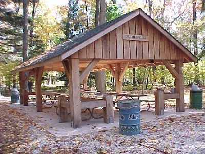 outdoor fireplace in picnic shelter - Google Search | beach ...